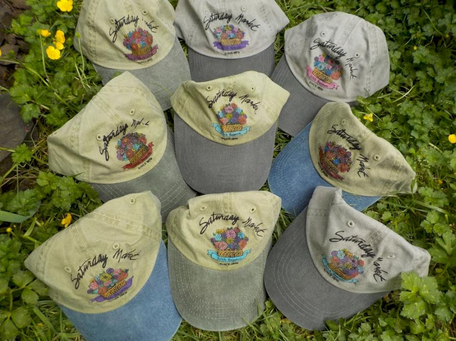 50th Hat Sale, $20, donated to Saturday Market